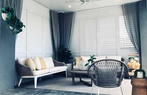 Sheers and Shutters