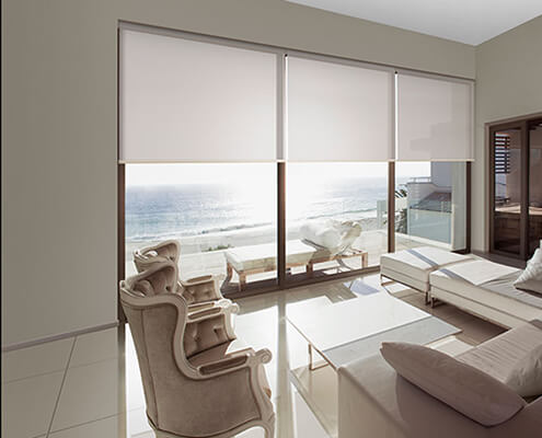 Opaque blinds sunscreen fabric UV protection