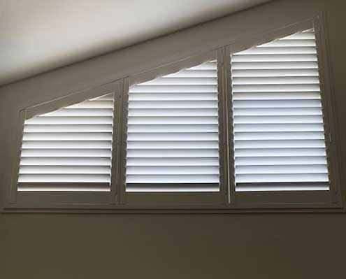 Shutters can be custom fit to any sized window