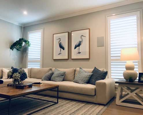 Shutters are a chic option for your interiors