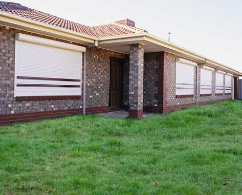 Roller shutters protect your windows from intruders and bad weather