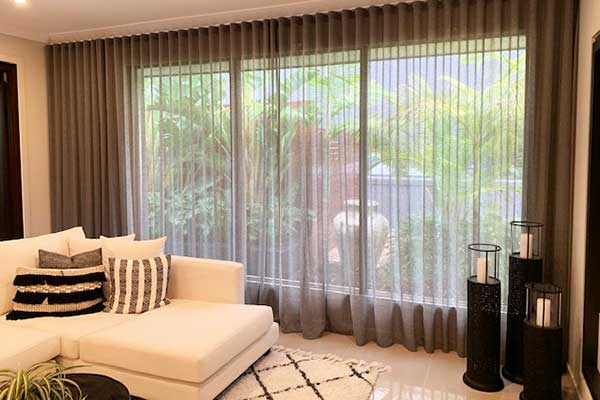 Sheer Curtains Client Installation