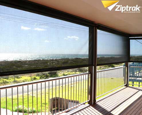 Ziptrak catalogue photo verhandah with ocean views
