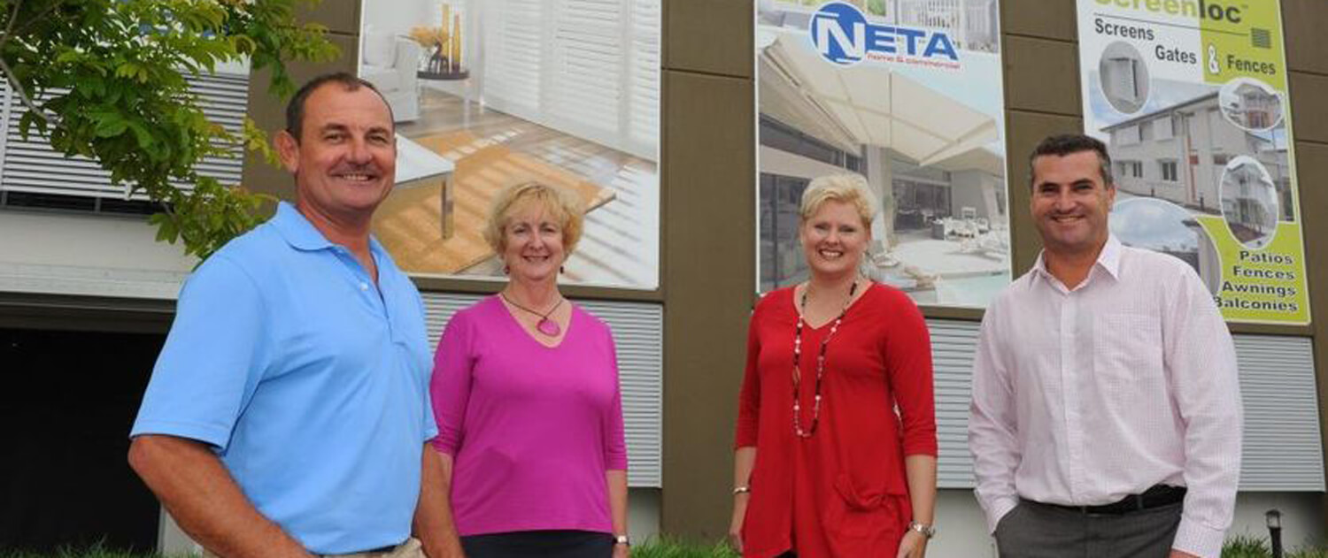 Chris and the Neta Home and Commercial team